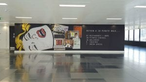 Architectural Signage Refurbishing in London 1