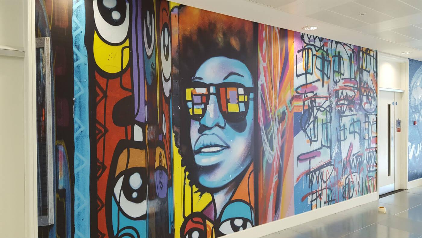 Digital Murals to a deadline