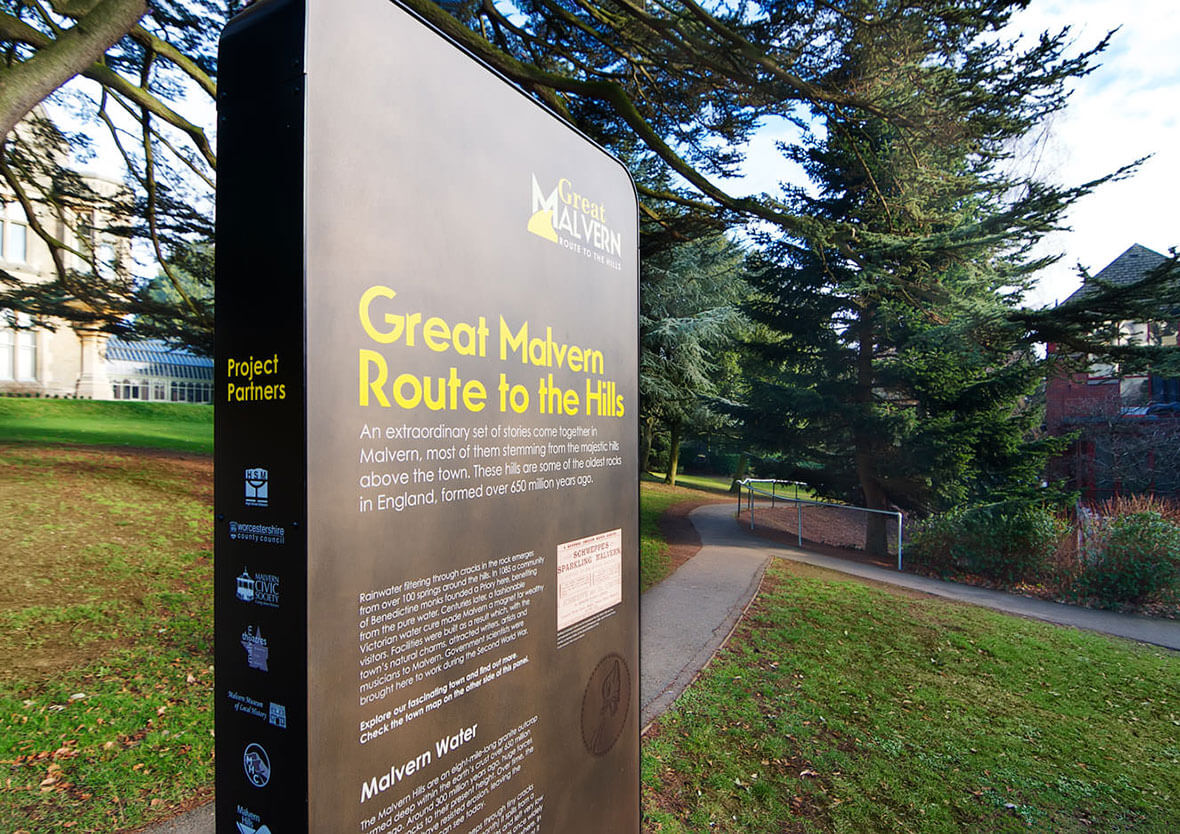 Great Malvern Route to the Hills