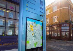 Gravesend Borough Council wayfinding signs