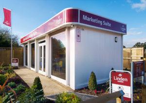 Linden homes sales marketing suite