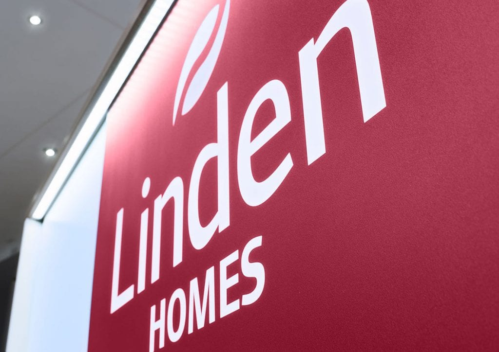 Linden homes sales marketing suite