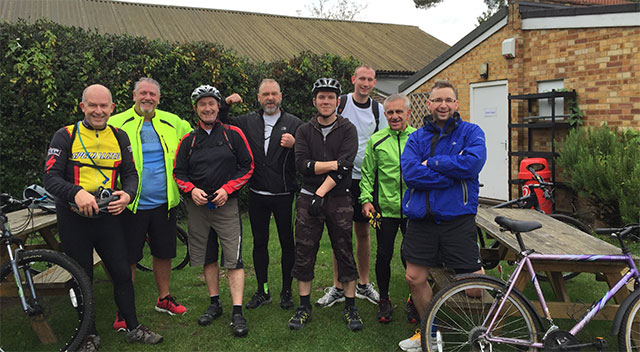 Cycling the extra mile for a good cause!