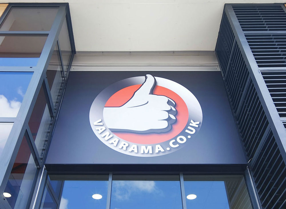 Vanarama HQ branding and signage