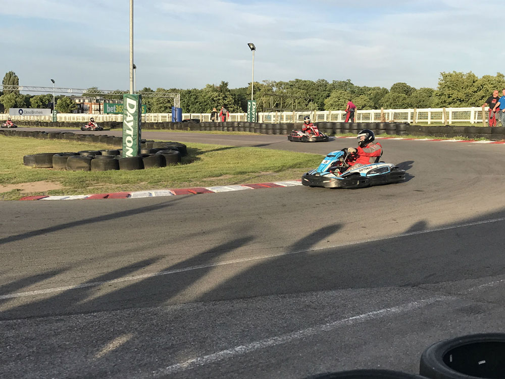 Reade Team and other contractors joined Berkeley Southern at their annual karting event at Sandown Park