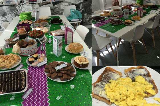 Charity Coffee Morning Goes Down a Treat!