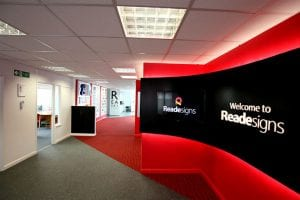 Reade Signs branding and signage