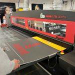 Printing signage