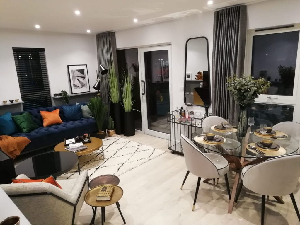 Marketing suite and show apartment