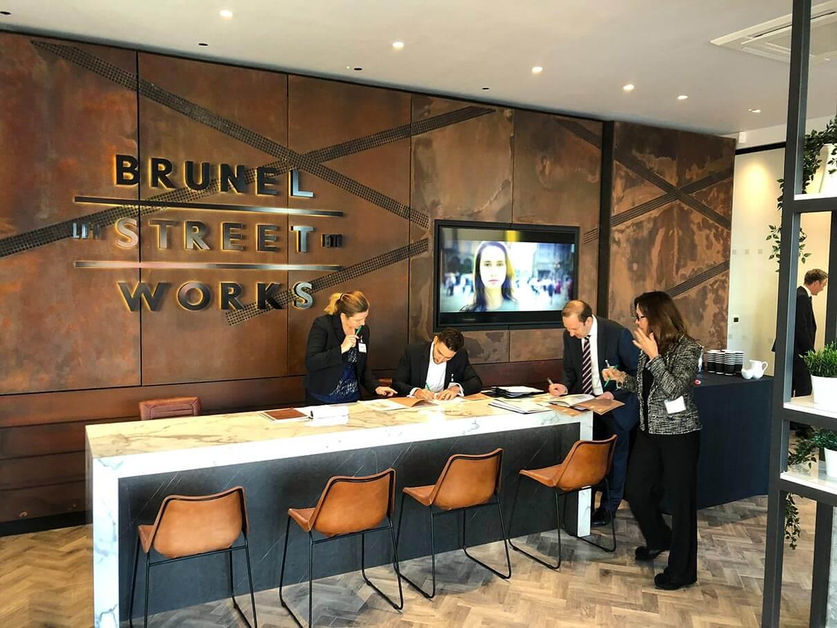 Brunel Street Works