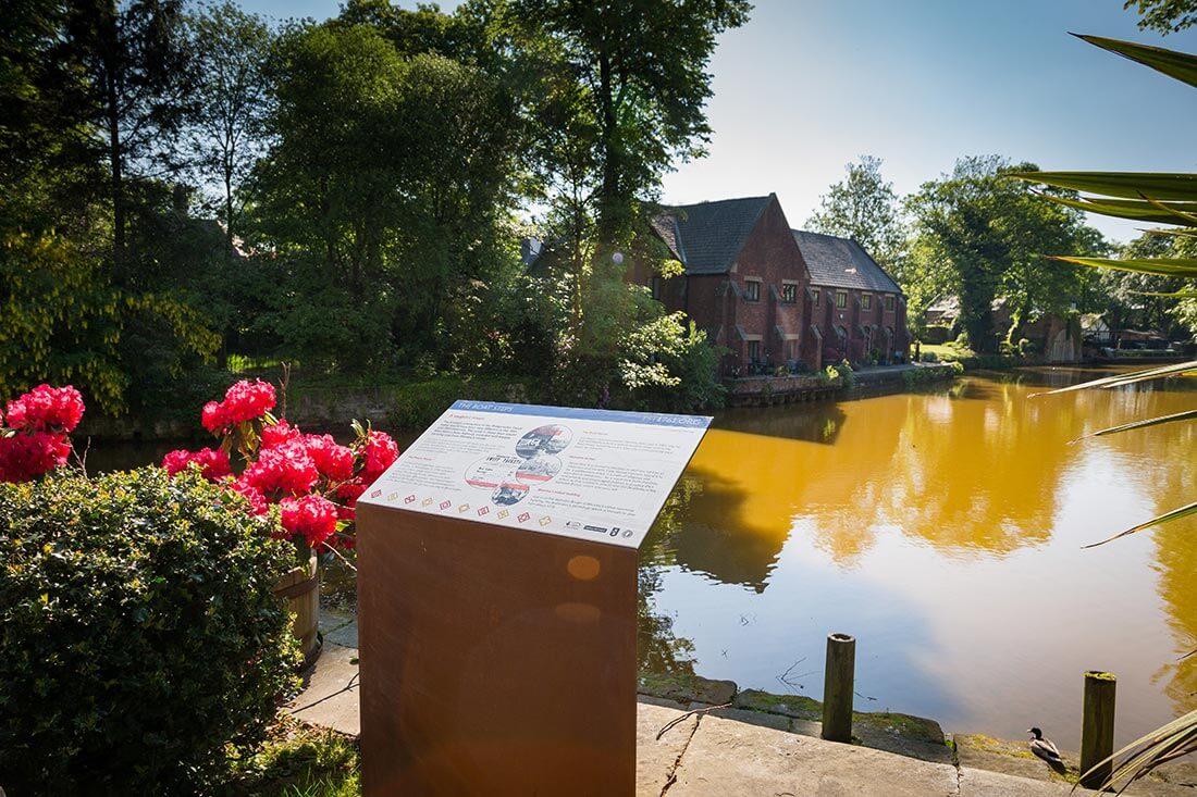The Bridgewater Canal, Salford