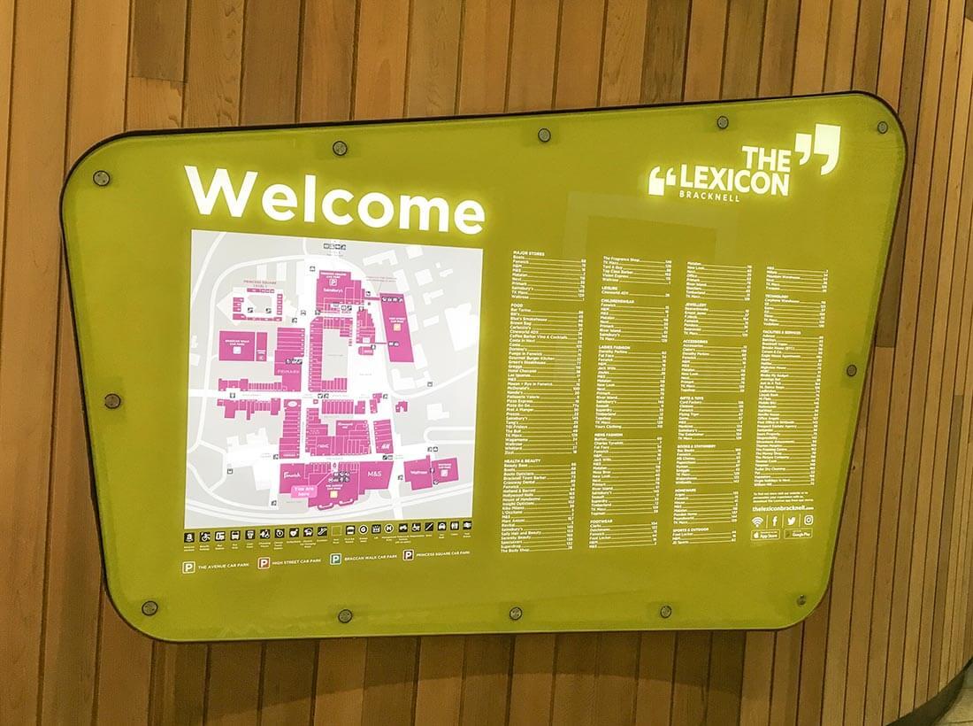 The Lexicon Shopping, Bracknell